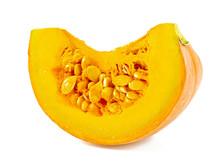 Pumpkin Ready To Be Eaten Isol...