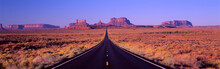 Famous Road To Monument Valley...