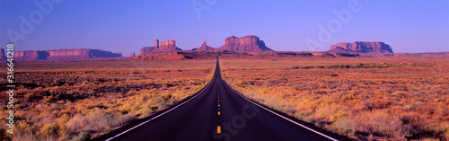 Famous Road to Monument Valley Arizona/Utah border area, Navajo Indian Reservati Wallpaper Mural