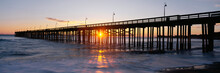 This Is The Ventura Pier At Su...