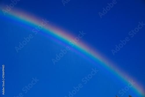 Photo This is a rainbow near the Niagara Falls.