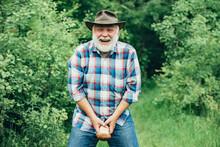 Senior Mushroomer. Happy Ol Ma...