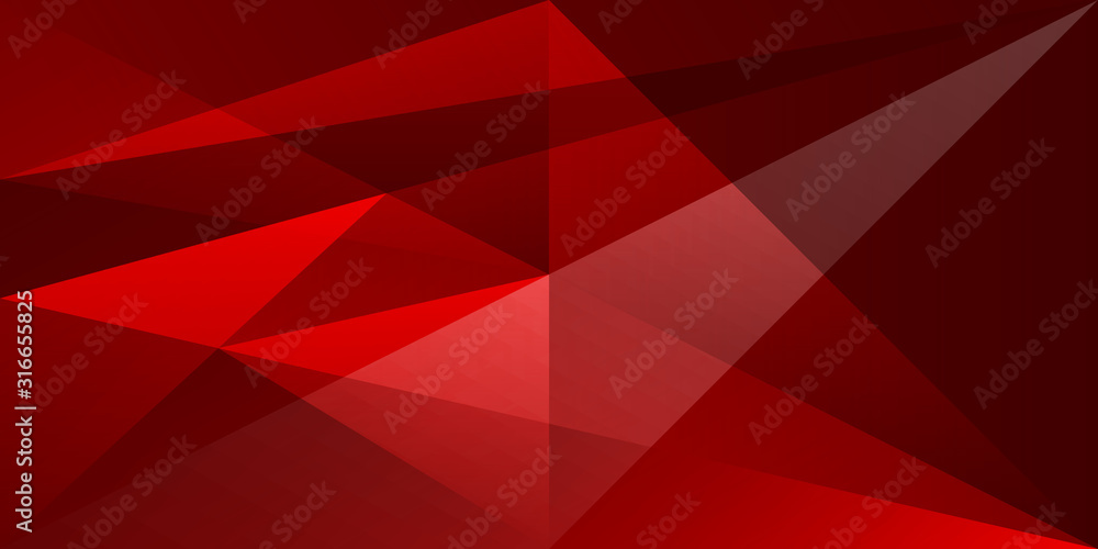 Fototapeta abstract shape background texture overlap transparent red color