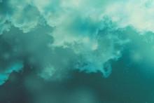 Greenish Blue Colorful Waterco...