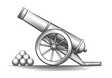 Cannon Weapon Firing