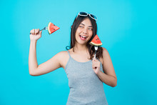 Portrait Attractive Asian Youn...