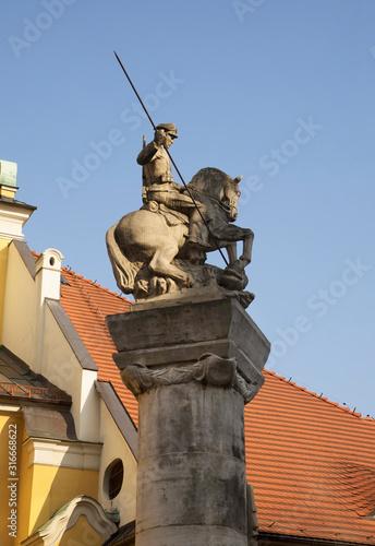 Fotografía  Monument to 15th Poznan Uhlans Regiment in Poznan