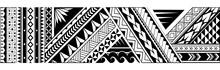 Tribal Art Tattoo Design For Sleeve Area