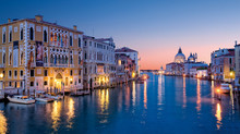 The Grand Canal From Accademia...