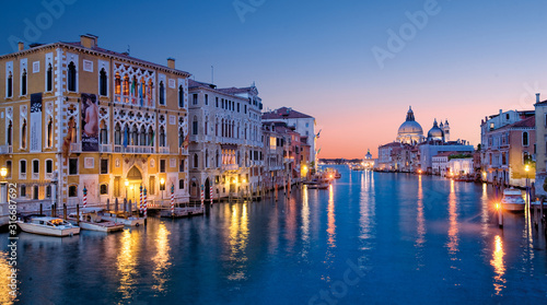 Fototapeta the grand canal from accademia bridge, Venice obraz