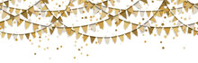 Seamless Colored Garlands And ...