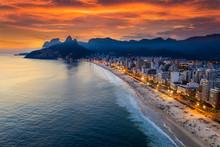 Beautiful Panorama Of Rio De J...