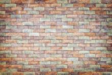 Colorful Brick Wall Texture Ba...