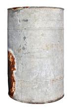 Old  Rusty Vintage Metal  Can ...