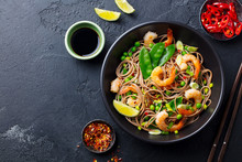 Stir Fry Noodles With Vegetabl...