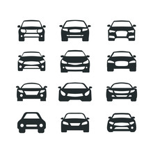 Car Vector Icons Set. Isolated...