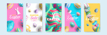 Happy Easter Vertical Banners ...