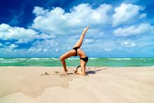 Yoga At Sea