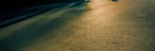 Asphalt Road In The Evening Li...