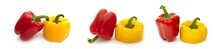 Bulgarian Sweet Pepper On A Wh...