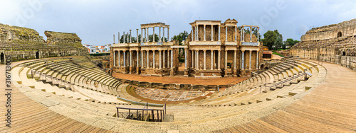 Teatro Romano de Mérida / Panorama