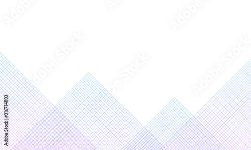 ストライプで山のグラフィック Canvas-taulu