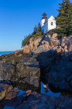 Bass Harbor Lighthouse  In The...