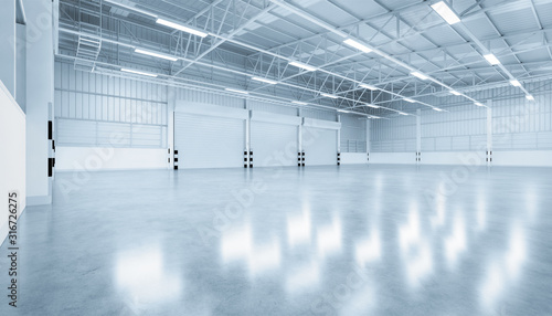 Fototapeta shutter door factory obraz