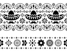 Mexican Seamless Vector Patter...