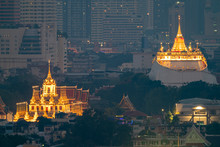 Golden Mountain In Wat Saket R...