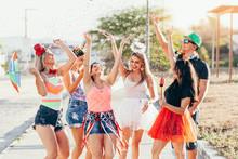 Brazilian Carnival. Group Of B...