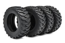Heavy Duty Tires Or Truck Tires. 3D Rendering