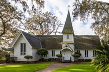 Christ Church On Saint Simons Island, Georgia