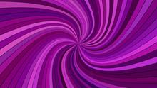 Purple Hypnotic Abstract Spira...