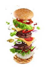 Maxi Hamburger, Double Cheeseb...