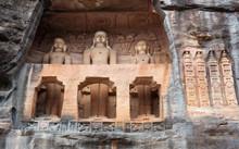 Ancient Jain Statues Carved Ou...
