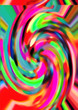 Abstract colored pattern. Digital art design