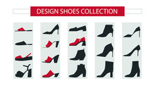 Women Shoes Collection. Modern...
