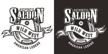 Wild West Vintage Emblem