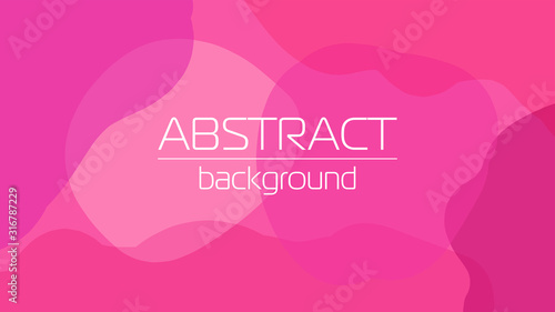 Photo Creative background with liquid abstract geometric shapes for social media templ