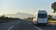 Sightseeing Minibus Performing...