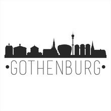 Gothenburg Sweden City. Banner...
