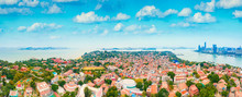 Aerial View Of Gulangyu Island...
