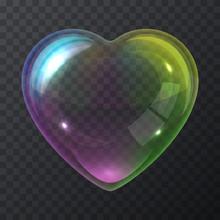 Soap Bubble Heart