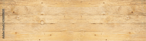 Fényképezés old brown rustic light bright wooden texture - wood background panorama banner l