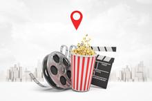 3d Rendering Of Popcorn Bucket...