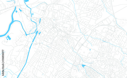 Valokuva Gloucester, England bright vector map