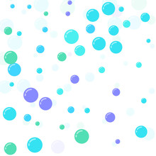 Festive Multicolored Circles, ...