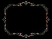 Copper Frame Ornamental Segmen...