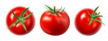 Tomato Isolate. Tomato On Whit...